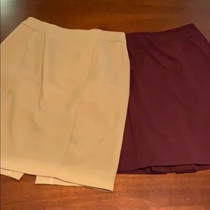 Two Great Skirts LOFT New York & Company